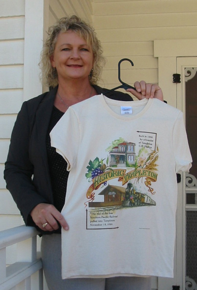 Historic Templeton T-shirts